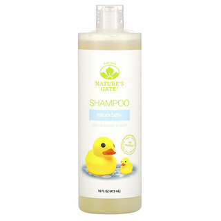 Nature's Gate, Nature Baby Shampoo & Wash, 16 fl oz (473 ml)