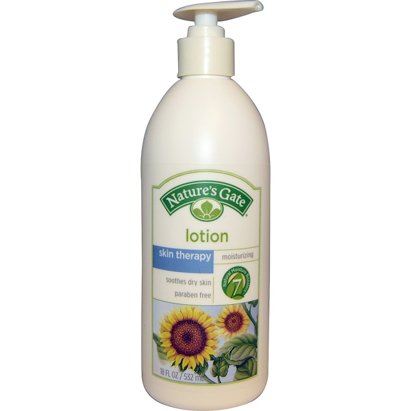 Nature's Gate, Lotion, Moisturizing, Skin Therapy, 18 fl oz (532 ml) (Discontinued Item)