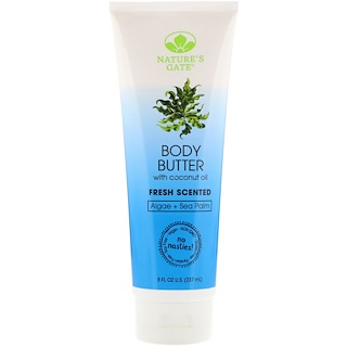 Nature's Gate, Body Butter, Fresh Scented, 8 fl oz (237 ml)