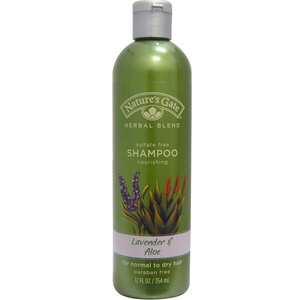 Nature's Gate, Herbal Blend, Shampoo, Lavender & Aloe, 12 fl oz (354 ml) (Discontinued Item)