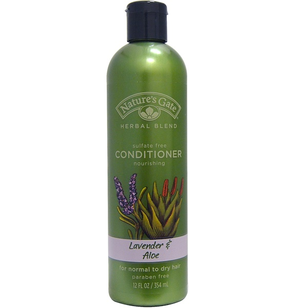 Nature's Gate, Conditioner, Lavender and Aloe, 12 fl oz (354 ml) (Discontinued Item)