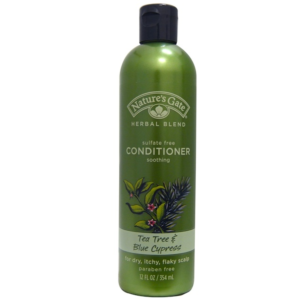 Nature's Gate, Conditioner, Tea Tree & Blue Cypress, 12 fl oz (354 ml) (Discontinued Item)