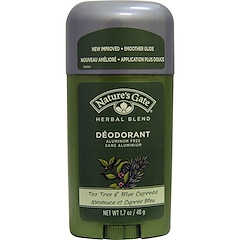 Nature's Gate, Deodorant, Herbal Blend, Tea Tree & Blue Cypress, 1.7 oz (48 g)