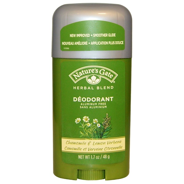 Nature's Gate, Deodorant, Herbal Blend, Chamomile & Lemon Verbena, 1.7 oz (48 g) (Discontinued Item)