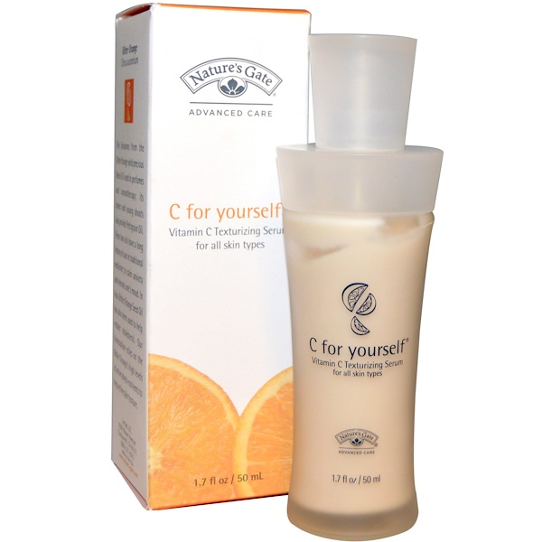 Nature's Gate, C for Yourself, Vitamin C Texturizing Serum, 1.7 fl oz (50 ml) (Discontinued Item)