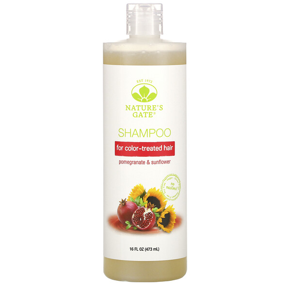 Pomegranate & Sunflower Shampoo for Color-Treated Hair, 16 fl oz (473 ml)