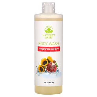 Nature's Gate, Pomegranate Sunflower Body Wash, 16 fl oz (473 ml)