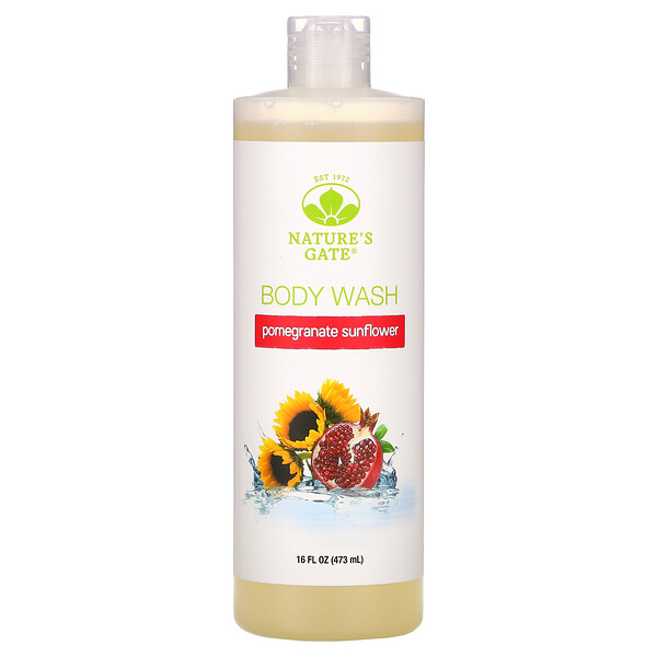 Pomegranate Sunflower Body Wash, 16 fl oz (473 ml)