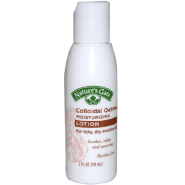 Nature's Gate, Colloidal Oatmeal Moisturizing Lotion, 2 fl oz (59 ml) (Discontinued Item)