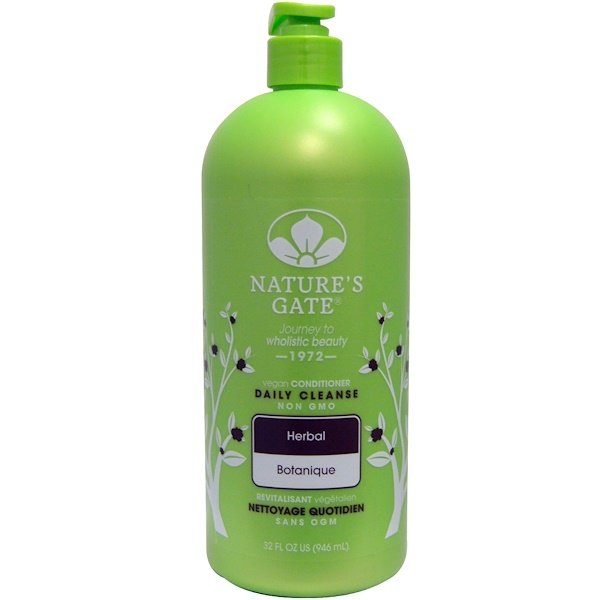 Nature's Gate, Daily Cleanse Conditioner, Vegan, Herbal, 32 fl oz (946 ml)