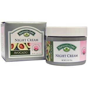Натурес гате, Night Cream, Avocado, 2 oz (57 g) отзывы покупателей