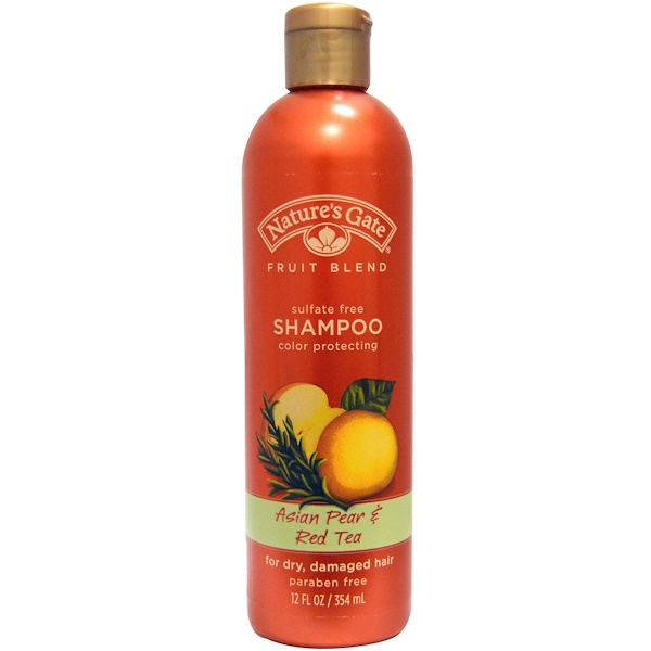 Nature's Gate, Fruit Blend, Shampoo, Asian Pear & Red Tea, 12 fl oz (354 ml) (Discontinued Item)
