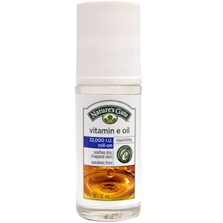 Nature's Gate, Vitamin E Oil, Roll-On, 32,000 IU, 1.1 fl oz (32 ml)