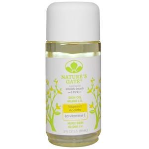 Натурес гате, Vitamin E Acetate Skin Oil, 40,000 I.U., 2 fl oz (59 ml) отзывы