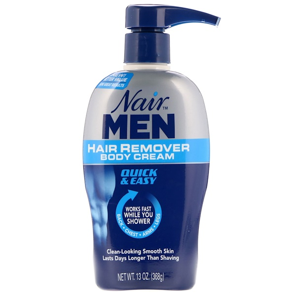 Nair , For Men, Hair Remover Body Cream, 13 oz (368 g)