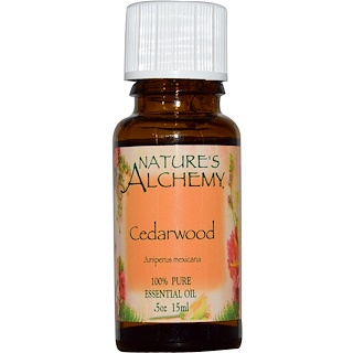 Nature's Alchemy, Cedarwood, Essential Oil, .5 oz (15 ml)
