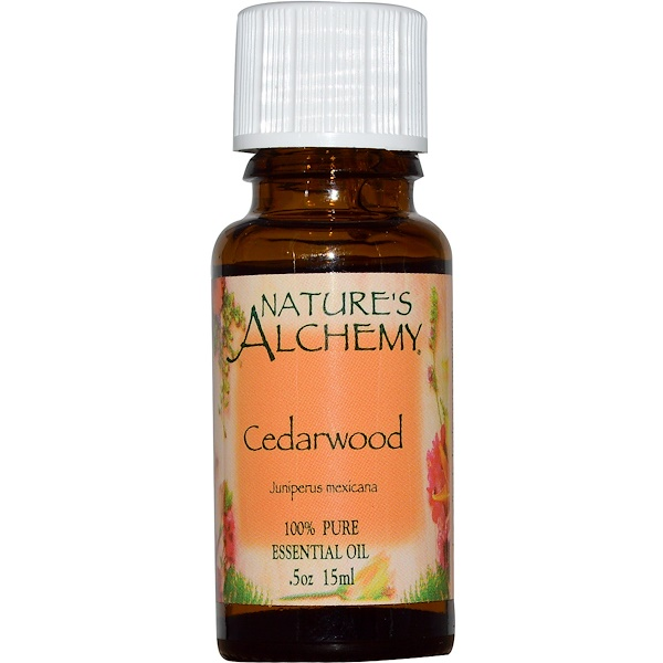 Nature's Alchemy, Cedarwood, Essential Oil, .5 oz (15 ml) (Discontinued Item)