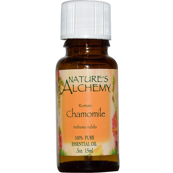 Nature's Alchemy, Roman Chamomile, Essential Oil, .5 oz (15 ml) (Discontinued Item)