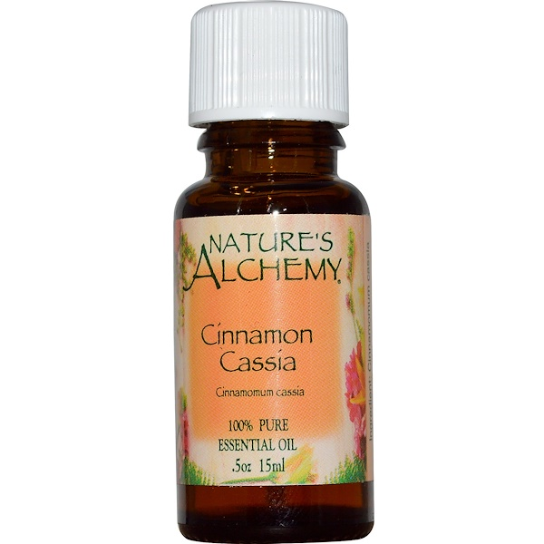 Nature's Alchemy, Cinnamon Cassia, Essential Oil, .5 oz (15 ml) (Discontinued Item)