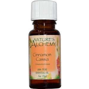 Натурес Алкеми, Cinnamon Cassia, Essential Oil, .5 oz (15 ml) отзывы покупателей