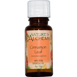 Nature's Alchemy, Cinnamon Leaf, Essential Oil, .5 oz (15 ml)