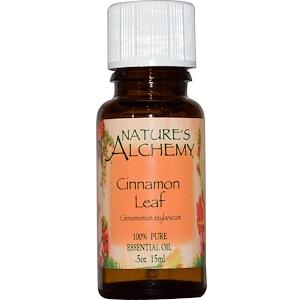 Натурес Алкеми, Cinnamon Leaf, Essential Oil, .5 oz (15 ml) отзывы покупателей