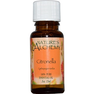Nature's Alchemy, Citronella, Essential Oil, .5 oz (15 ml)