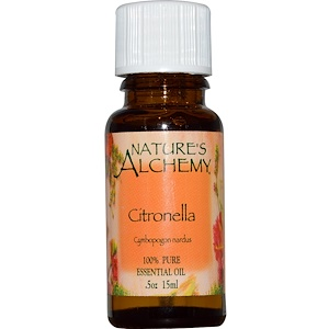 Натурес Алкеми, Citronella, Essential Oil, .5 oz (15 ml) отзывы