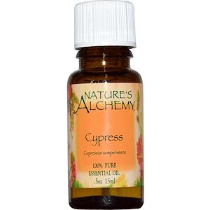 Натурес Алкеми, Cypress, Essential Oil, .5 oz (15 ml) отзывы покупателей