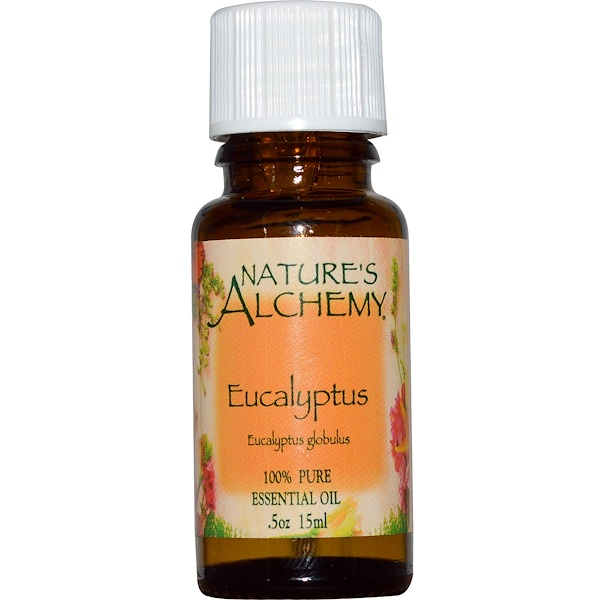 Nature's Alchemy, Eucalyptus, Essential Oil, .5 oz (15 ml) (Discontinued Item)