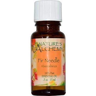 Nature's Alchemy, Fir Needle, Essential Oil, .5 oz (15 ml)