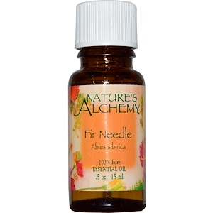 Натурес Алкеми, Fir Needle, Essential Oil, .5 oz (15 ml) отзывы покупателей