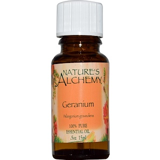 Nature's Alchemy, Geranium, Essential Oil, 0.5 oz (15 ml)
