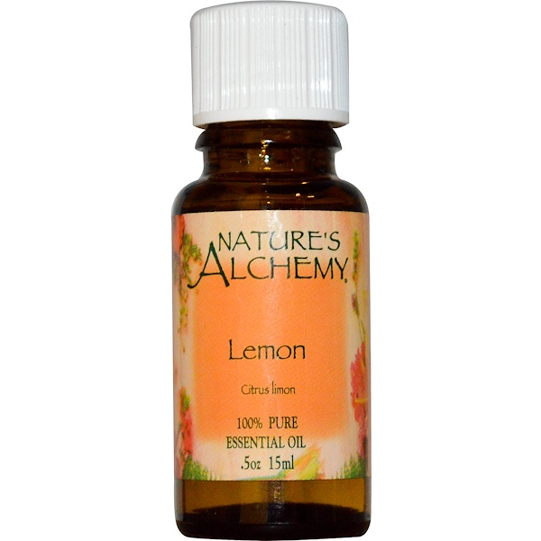Nature's Alchemy, Essential Oil, Lemon, 0.5 oz (15 ml) (Discontinued Item)