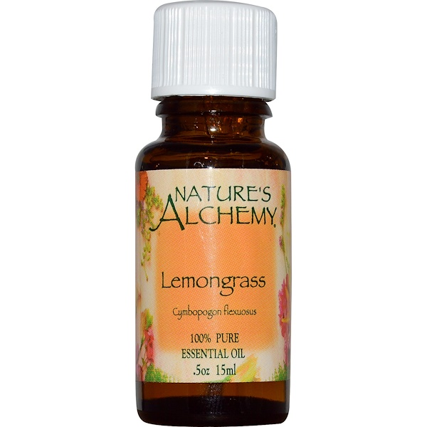 Nature's Alchemy, Lemongrass, Essential Oil, 0.5 oz (15 ml)