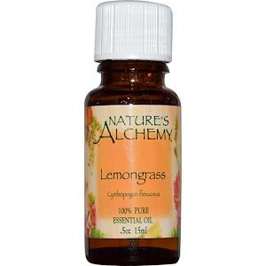 Натурес Алкеми, Lemongrass, Essential Oil, 0.5 oz (15 ml) отзывы покупателей
