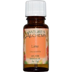 Натурес Алкеми, Lime, Essential Oil, .5 oz (15 ml) отзывы