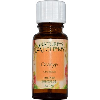 Nature's Alchemy, Orange, Essential Oil, .5 oz (15 ml)