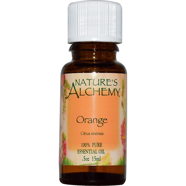 Nature's Alchemy, Orange, Essential Oil, .5 oz (15 ml) (Discontinued Item)