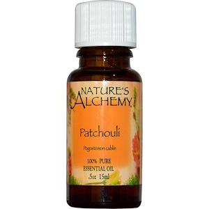 Натурес Алкеми, Patchouli, Essential Oil, 0.5 oz (15 ml) отзывы покупателей