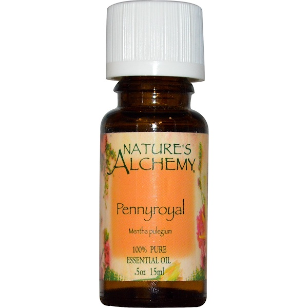Nature's Alchemy, Pennyroyal, Essential Oil, .5 oz (15 ml) (Discontinued Item)