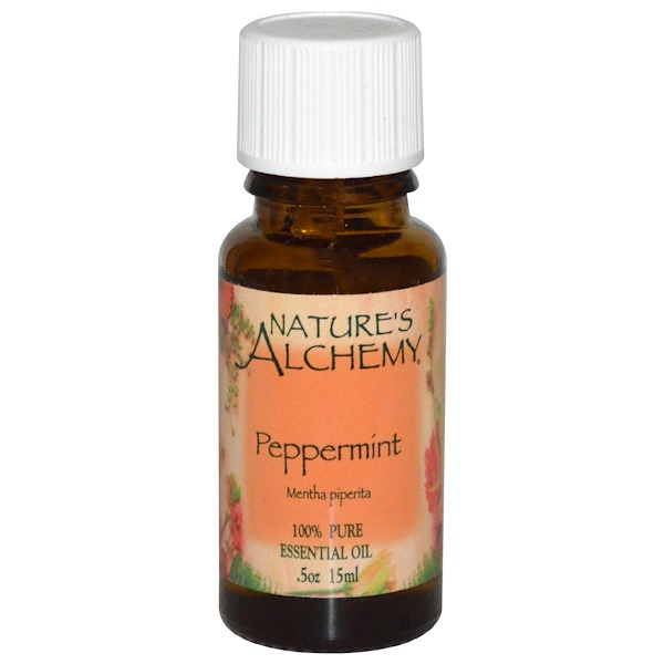 Nature's Alchemy, Peppermint Oil, .5 oz (15 ml) (Discontinued Item)