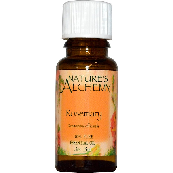 Nature's Alchemy, 에센셜 오일, 로즈마리, 0.5 oz (15 ml) (Discontinued Item)