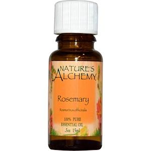 Натурес Алкеми, Essential Oil, Rosemary, 0.5 oz (15 ml) отзывы покупателей