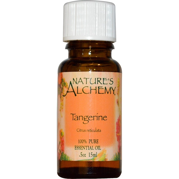 Nature's Alchemy, Tangerine, Essential Oil, .5 oz (15 ml) (Discontinued Item)