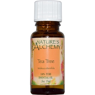 Nature's Alchemy, Tea Tree, Essential Oil, .5 oz (15 ml)