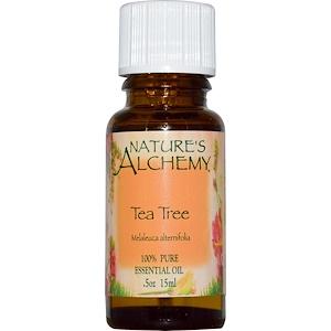 Натурес Алкеми, Tea Tree, Essential Oil, .5 oz (15 ml) отзывы