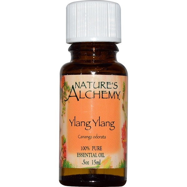 Nature's Alchemy, Ylang Ylang, Essential Oil, .5 oz (15 ml) (Discontinued Item)