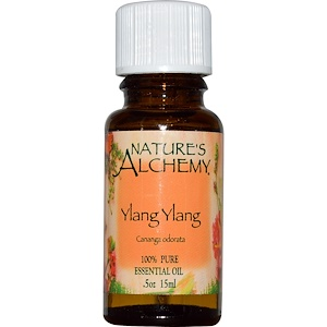 Натурес Алкеми, Ylang Ylang, Essential Oil, .5 oz (15 ml) отзывы покупателей