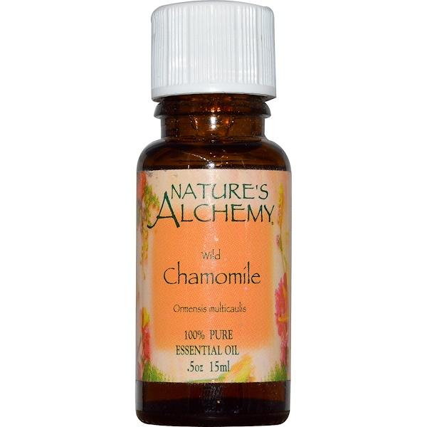 Nature's Alchemy, Essential Oil, Wild Chamomile, 0.5 oz (15 ml) (Discontinued Item)